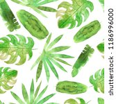 seamless pattern with... | Shutterstock . vector #1186996000