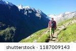 "austria. alpine region ""stubai"".... | Shutterstock . vector #1187009143"