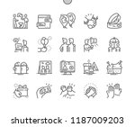 friendship well crafted pixel... | Shutterstock .eps vector #1187009203