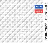 white  gray  abstract geometric ... | Shutterstock .eps vector #1187012380