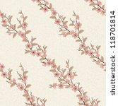 beautiful seamless pattern with ... | Shutterstock . vector #118701814