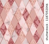 vector marble seamless pattern... | Shutterstock .eps vector #1187052046