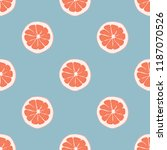 fruit seamless pattern with... | Shutterstock .eps vector #1187070526