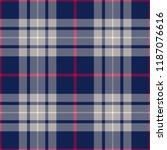 tartan seamless pattern. vector ... | Shutterstock .eps vector #1187076616