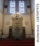 historic arabian mosque ... | Shutterstock . vector #1187097973