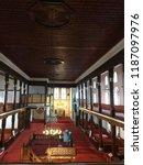historic arabian mosque ... | Shutterstock . vector #1187097976