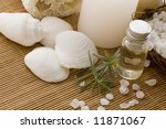 aromatherapy items | Shutterstock . vector #11871067