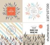 bread design template...   Shutterstock .eps vector #1187107330