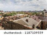 odessa  ukraine   sep. 09  2018 ...   Shutterstock . vector #1187109559