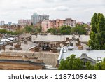 odessa  ukraine   sep. 09  2018 ...   Shutterstock . vector #1187109643