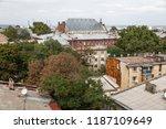 odessa  ukraine   sep. 09  2018 ...   Shutterstock . vector #1187109649