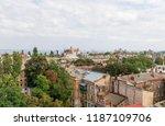 odessa  ukraine   sep. 09  2018 ...   Shutterstock . vector #1187109706