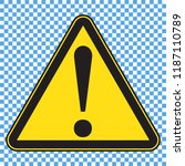 danger sign  danger icon | Shutterstock .eps vector #1187110789
