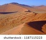 sossusvlei  namib desert ... | Shutterstock . vector #1187115223