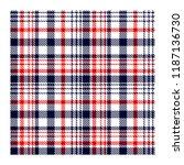 seamless tartan plaid pattern....   Shutterstock .eps vector #1187136730