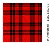 seamless tartan plaid pattern.... | Shutterstock .eps vector #1187136733