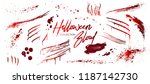 blood collection  happy... | Shutterstock .eps vector #1187142730