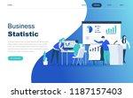 modern flat design concept of... | Shutterstock .eps vector #1187157403