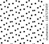 abstract vector monochrome... | Shutterstock .eps vector #1187173459