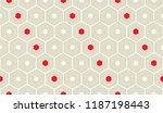 seamless elegant wallpaper.... | Shutterstock .eps vector #1187198443