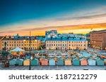 helsinki  finland. view of... | Shutterstock . vector #1187212279
