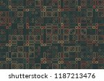 beautiful geometric pattern... | Shutterstock .eps vector #1187213476