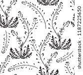 seamless pattern with shepherd... | Shutterstock .eps vector #1187225650