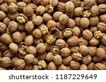 Walnuts With And Without Shell...