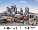 london downtown cityscape... | Shutterstock . vector #1187235919