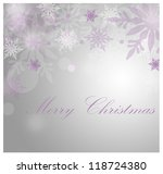 christmas card background | Shutterstock . vector #118724380