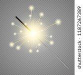 bengal light effect. magic... | Shutterstock .eps vector #1187267389