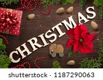 christmas decoration and the... | Shutterstock . vector #1187290063