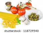 italian cooking | Shutterstock . vector #118729540