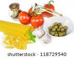 italian cooking | Shutterstock . vector #118729540