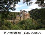 romantic castle in eltz | Shutterstock . vector #1187300509