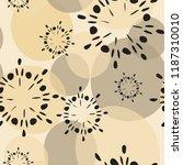 circular transparent geometric... | Shutterstock .eps vector #1187310010