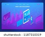 business website template...   Shutterstock .eps vector #1187310319