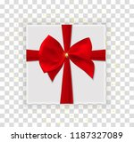 abstract christmas and new year ... | Shutterstock .eps vector #1187327089