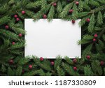 christmas holiday background... | Shutterstock . vector #1187330809