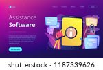user looking for information in ...   Shutterstock .eps vector #1187339626