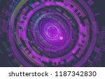 abstract technology background. ... | Shutterstock .eps vector #1187342830