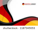 germany flag concept background ... | Shutterstock .eps vector #1187345053