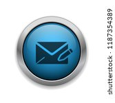 compose email   app icon | Shutterstock .eps vector #1187354389