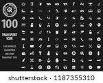 transport icon set for web...   Shutterstock .eps vector #1187355310