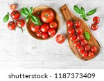 Fresh Red Variety Of Tomatoes...