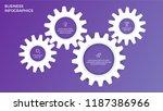 business infographics....   Shutterstock .eps vector #1187386966