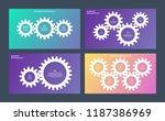 business infographics.... | Shutterstock .eps vector #1187386969