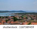 cunda  ayval k  turkey. a... | Shutterstock . vector #1187389459