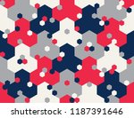 seamless geometric pattern   Shutterstock .eps vector #1187391646
