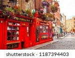 dublin  ireland   june 16  2018 ... | Shutterstock . vector #1187394403